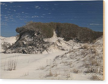 Lively Dunes Wood Print by Adam Jewell