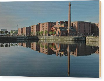 Liverpool Canning Docks Wood Print by Jonah  Anderson