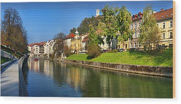 Ljubljanica Wood Print