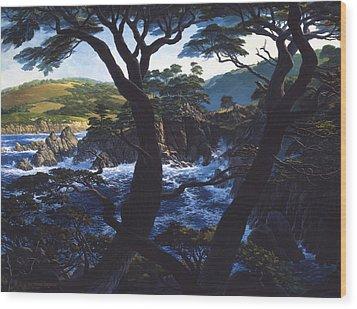 Lobos Symphony Wood Print