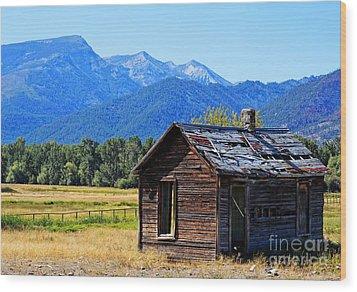 Wood Print featuring the photograph Location Location Location Montana by Joseph J Stevens