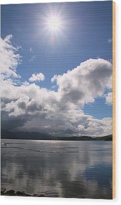 Wood Print featuring the photograph Loch Etive by Elizabeth Lock