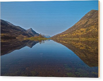 Wood Print featuring the photograph Loch Leven by Stephen Taylor
