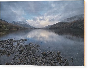 Wood Print featuring the photograph Loch Lubnair by Stephen Taylor