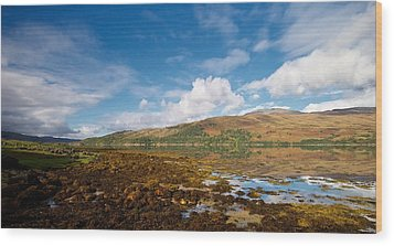 Wood Print featuring the photograph Loch Sunart by Stephen Taylor