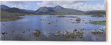 Lochan Nah Achlaise Wood Print