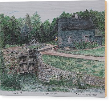 Lock 12 Color Wood Print