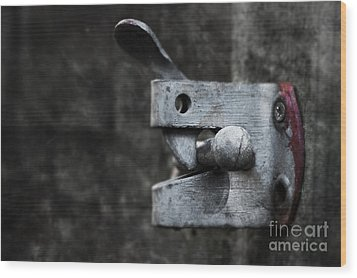 Lock Wood Print by Svetlana Sewell