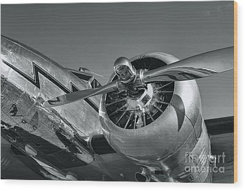 Lockheed 12a Electra Junior  Wood Print by Olga Hamilton