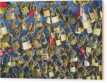 Wood Print featuring the photograph Locks Of Love by Hugh Smith