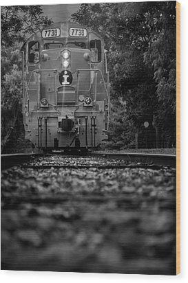 Locomotive 7738 Wood Print