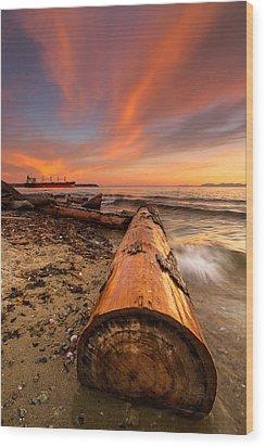 Login To Nature Wood Print