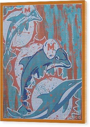 Logo Evolution Wood Print by Gary Niles