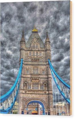 London Bridge - High Dynamic Range Wood Print