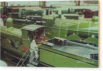 London Southwestern Locomotive Wood Print by Susan Williams