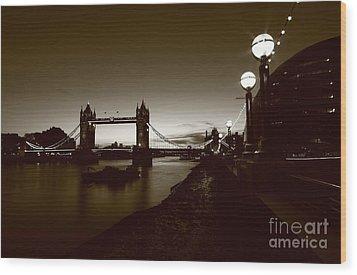 London Tower Bridge  Wood Print by Mariusz Czajkowski