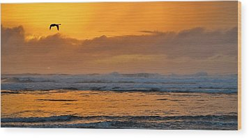 There Is Always A New Day - Every Time Wood Print