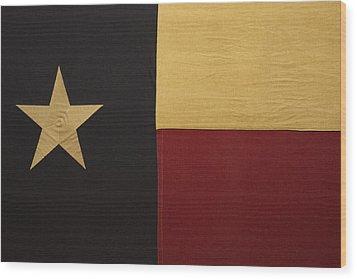 Lone Star Proud Wood Print