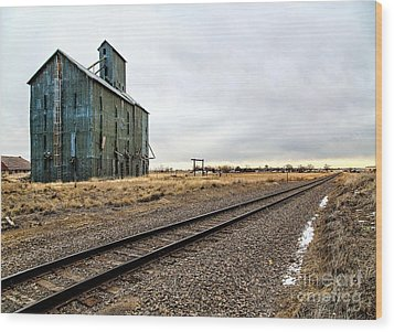 Lonesome Road Wood Print by Jon Burch Photography