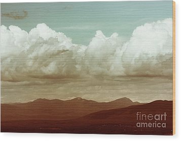Wood Print featuring the photograph Long Horizon by Dana DiPasquale