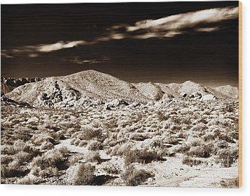 Long Journey Home Wood Print by John Rizzuto