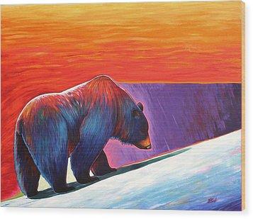Long Journey Wood Print by Joe  Triano