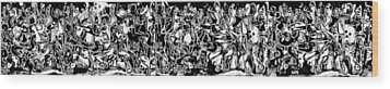 Long Series -- Archetype Wood Print by George Curington