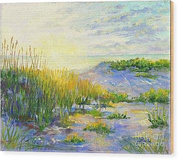 Longboat Key  Sunset Wood Print