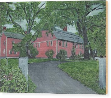 Longfellow's Wayside Inn Wood Print by Cliff Wilson