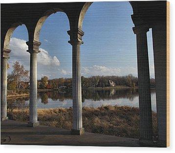 Longview Lake Wood Print