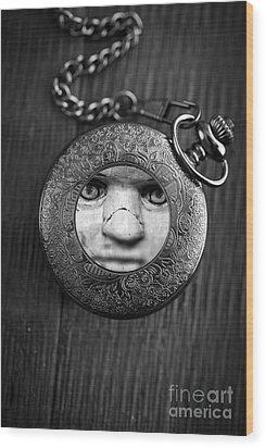 Look Behind You Wood Print by Edward Fielding