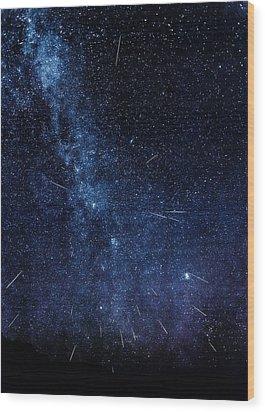 Look To The Heavens Wood Print by Rick Furmanek