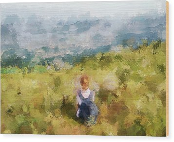 Looking At Hk From The Hills Wood Print by Yury Malkov