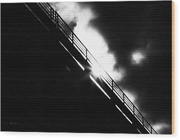 Looking At The Sun Wood Print by Bob Orsillo