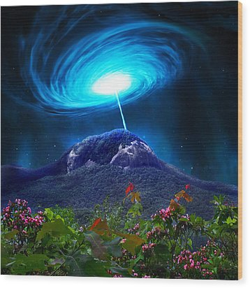 Looking Glass Rock Event 2 Wood Print
