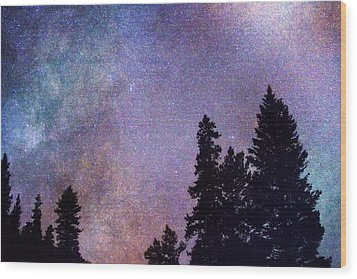 Looking Into The Heavens Wood Print by James BO  Insogna
