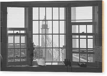 Looking Out Wood Print by Mike McGlothlen