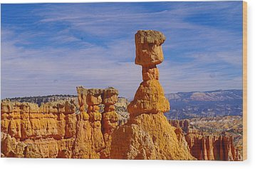Looking Over Sunset Point  Wood Print by Jeff Swan