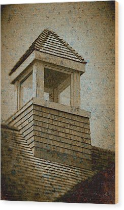 Wood Print featuring the photograph Lookout by WB Johnston