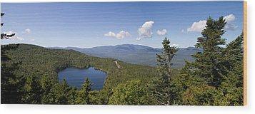 Loon Mountain Wood Print