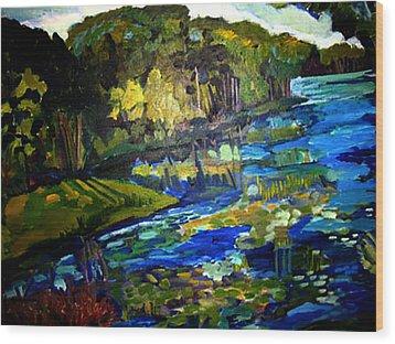 Lore Lake Wood Print