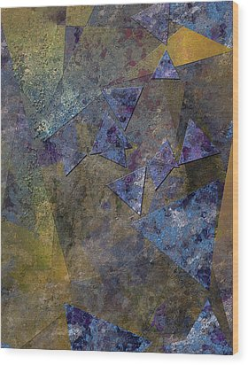 Lorem Ipsum Wood Print by Bruce Rolff
