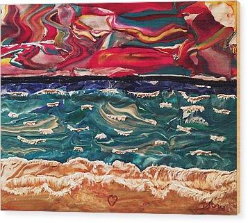 Lori's Paradise Wood Print