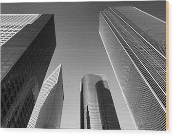 Los Angeles Architecture Wood Print