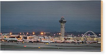 Los Angeles International Airport Wood Print