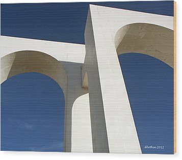 Wood Print featuring the photograph Los Arcos by Dick Botkin