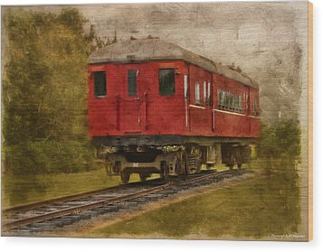 Lost Carriage 01 Wood Print by Kevin Chippindall