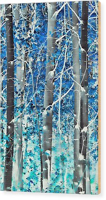 Lost In A Dream Wood Print by Don Schwartz