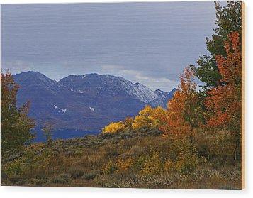 Lost In Autumn Wood Print by Jeremy Rhoades
