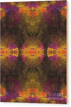 Wood Print featuring the digital art Lost In Colors by Hanza Turgul